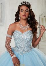 77c2ff7c8e0 Tiffany Quinceanera Beaded Sweetheart Gown 56298. Krystal Blue  Krystal  Blue  Krystal Blue ...