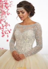 1e6d7f9d029 Tiffany Quince Beaded Long 56347 Dress. Champagne Champagne   Champagne Champagne ...