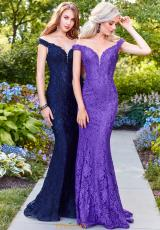 Navy and Purple