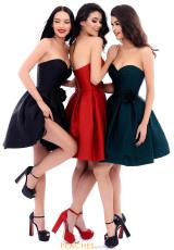Black, Red, Emerald