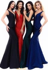 Black, Red, Emerald, Navy