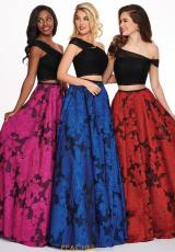 Black/Fuchsia, Black/Royal, Black/Red
