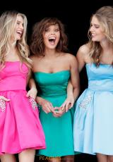 Fuchsia, Emerald, Light Blue