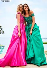 Fuchsia and Emerald