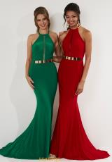 Emerald and Red
