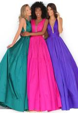 Emerald, Fuchsia, Purple