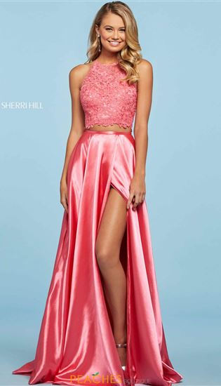 Two Piece Prom Dresses And Two Piece Homecoming Dresses