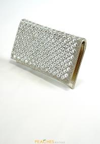 Gold Crystal Prom Purse