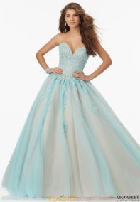 Aqua Prom Dresses | Peaches Boutique