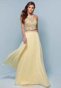 Yellow Prom Dresses Peaches Boutique 14