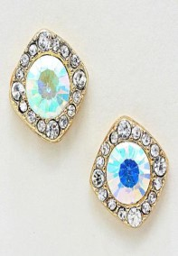 Se0102AbGoldCliponEarrings