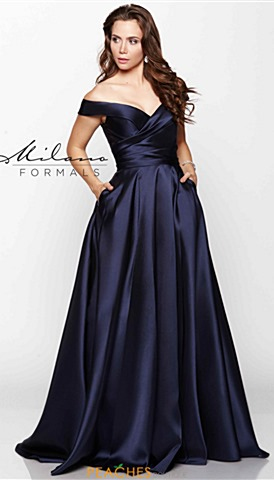 Cap Sleeve Prom Dresses Peaches Boutique