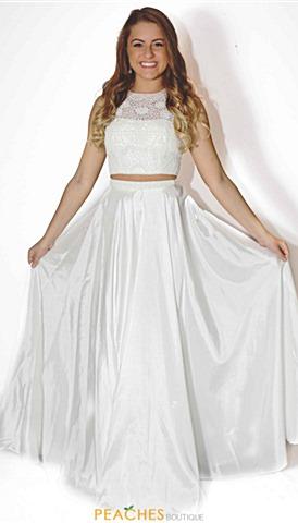 White Dresses for Prom
