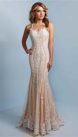 Lace Homecoming Dresses Peaches Boutique