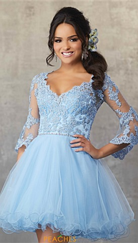 06c82ddbad4f Periwinkle; Periwinkle; Periwinkle. Sherri Hill Short Dress 52199 $398  Quickview. Morilee Sticks & Stones 9473