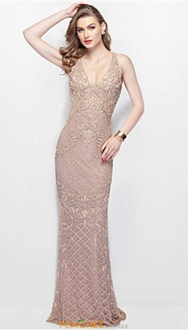 Nude Homecoming Dresses | Peaches Boutique