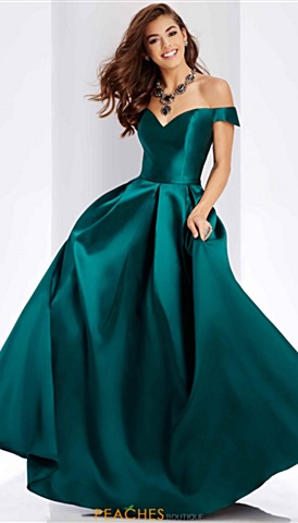 Green Prom Dresses Peaches Boutique