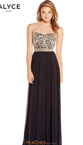 Alyce Homecoming Dresses   Peaches Boutique
