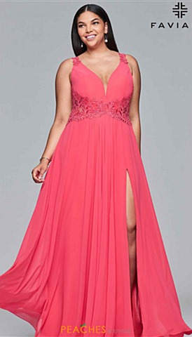 Coral Homecoming Dresses Peaches Boutique