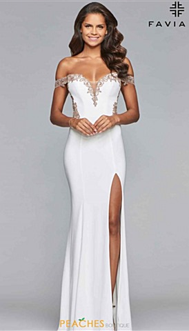 Ivory Prom Dresses Peaches Boutique