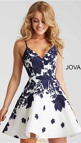 Jovani Short Prom Dresses Peaches Boutique