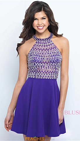 Purple Homecoming Dresses | Peaches Boutique