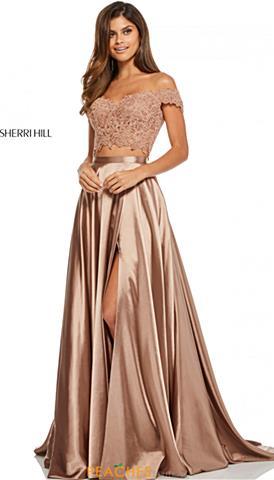 Two Piece Prom Dresses Peaches Boutique
