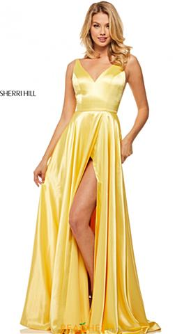Yellow Prom Dresses  fa6cc8b6f