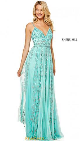 Aqua Party Dresses