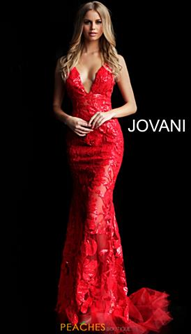 1cd0cd11119f Jovani 60283. Quickview. Red; Black ...