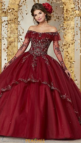 821efded6e2 Vizcaya Quinceanera Gown 89221  950 Quickview. Vizcaya 89235