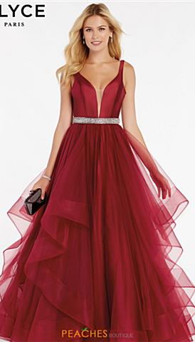 691fe4a057fc Alyce Prom Dresses | Peaches Boutique