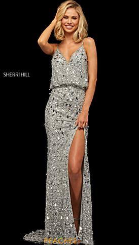 7296f3f96b2 Sherri Hill Dress 52338  698 Quickview. Best Seller. Sherri Hill 52452