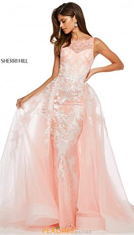 23aa2f126008 Coral Prom Dresses | Peaches Boutique