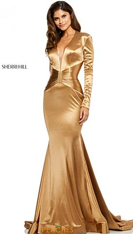 Golden Prom Dress
