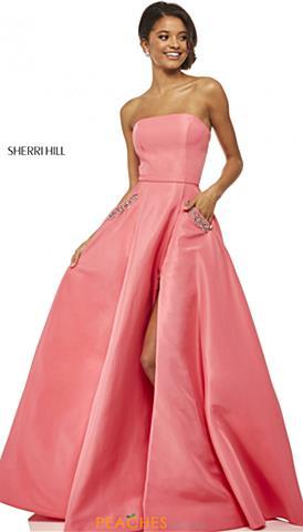 6cd2cb6fccf9 Coral Prom Dresses | Peaches Boutique