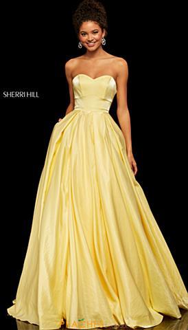 2bff6f2c1fb ... Yellow. Sherri Hill Dress 52579  450 Quickview. Sherri Hill 52456