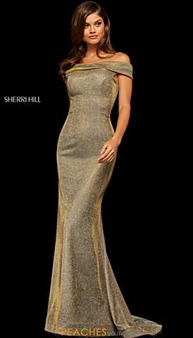 Gold Prom Dresses Peaches Boutique