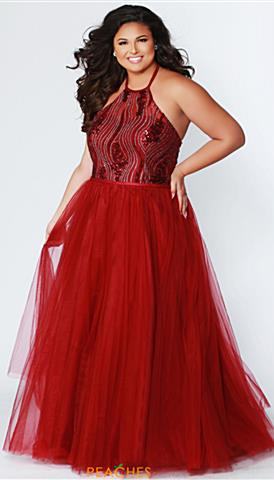 024d2f333a517 Plus Size Prom Dresses | Peaches Boutique