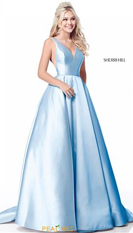 0ed72f93efd86 Sherri Hill 51856. Quickview. Emerald; Ivory; Light Blue ...