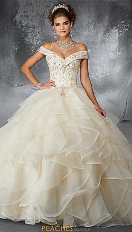 a842280bc3 High Neckline Vizcaya Quinceanera Dress 89067  780 Quickview. Vizcaya 60059