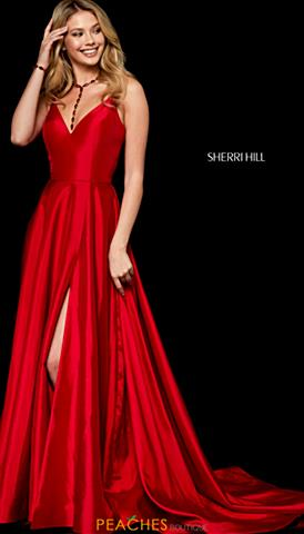Red Prom Dresses Peaches Boutique
