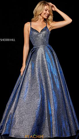 Royal Purple 2018 Sherri Hill Prom Dresses
