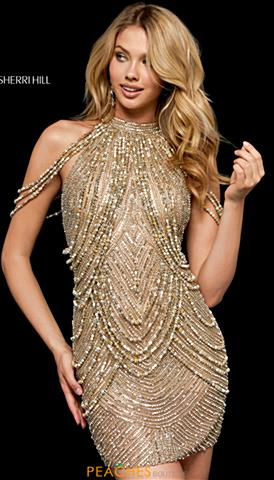 776ea1443261 Sherri Hill Short Prom Dresses
