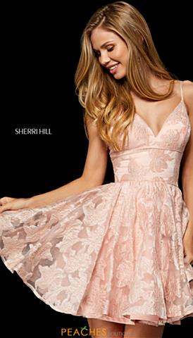 Join Sherri hill short black lace dress certainly