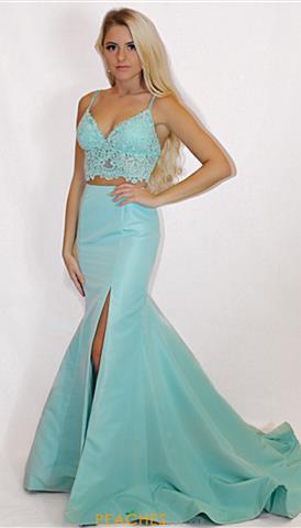 Aqua Homecoming Dresses Peaches Boutique