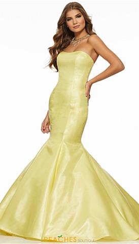 Strapless Long Prom Dresses