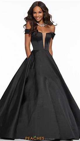 Black Prom Dresses Peaches Boutique