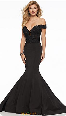 Black Prom Dresses Peaches Boutique