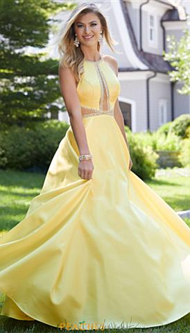 Yellow Prom Dresses Peaches Boutique